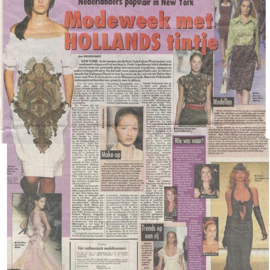De Telegraaf - 17 september 2005