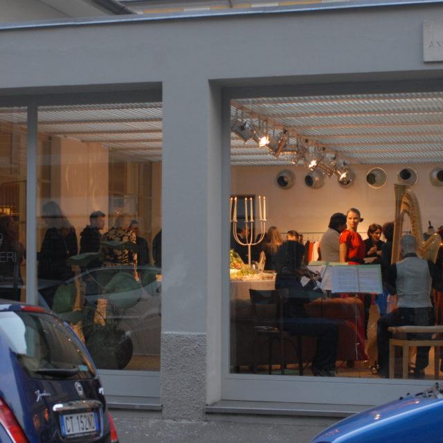 Marcha Hüskes at Papaveri Showroom © DFF