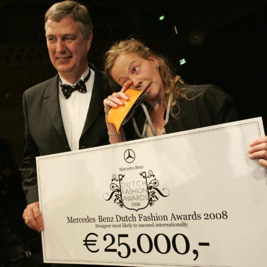 © PETER STIGTER DUTCH FASHION AWARD 2008